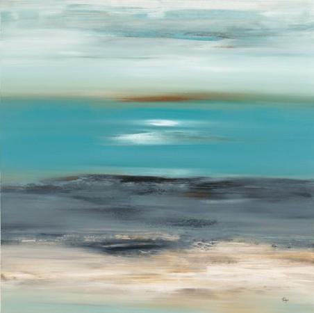 Aqua Dreams-Ridgers, 40x40
