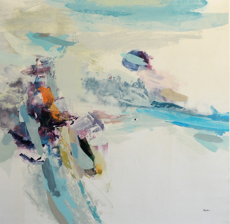 "Esacpism 2-Hibberd, 40""X40"" painting on canvas JPG"