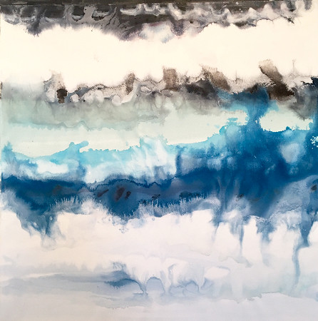 "Natural Daydream-Hibberd, 40""x40"" on canvas"