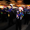 Photo by Walt Hester<br /> The award-winning Bobcats' Marching Band lights up Elkhorn Avenue in Estes Park, Colo. with their music as well as their uniforms on the Friday after Thanksgiving. The band sports mobile Christmas lights powered by battery packs.