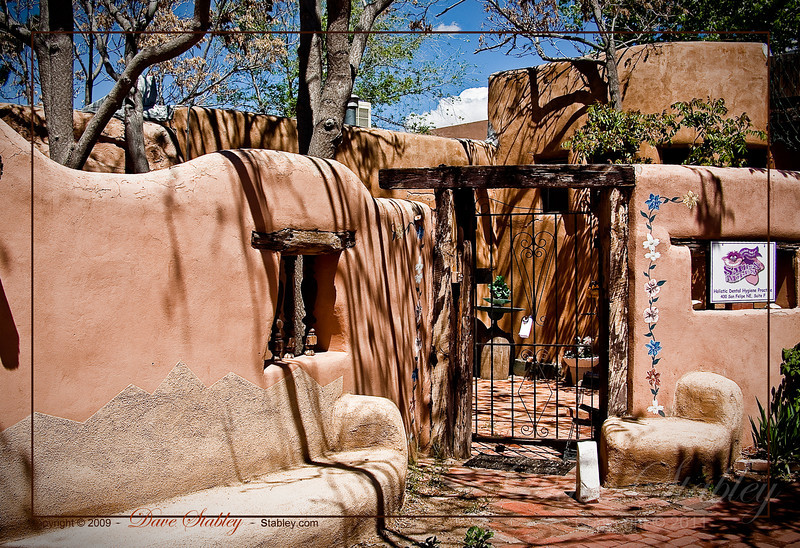 Southwest Architecture - traditional southwest style in Old Town ABQ