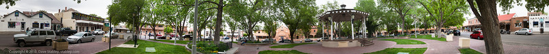 Old Town Plaza Panorama - a 360 degree view of the ABQ Old Town Plaza
