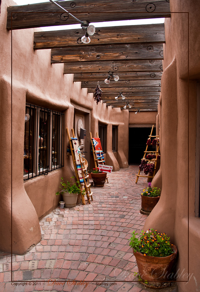 Shops and Alleys - unique little shops dot the streets and alleys of Old Town ABQ