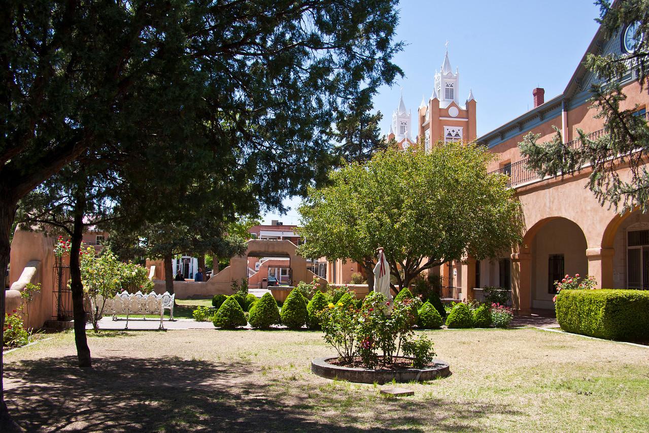 San Filipe de Neri Mission, Convent building.
