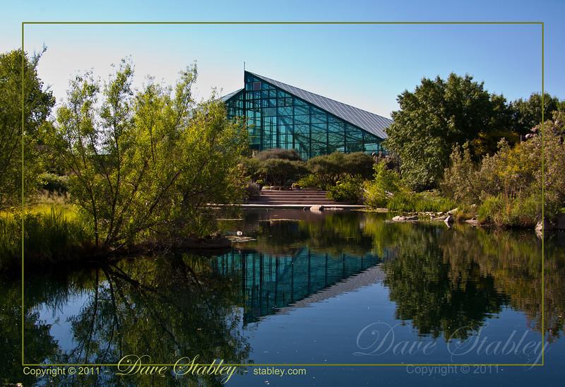 Rio Grande Botanic Garden Conservatory