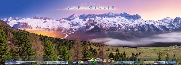 Calendario Alpi Giulie 2016