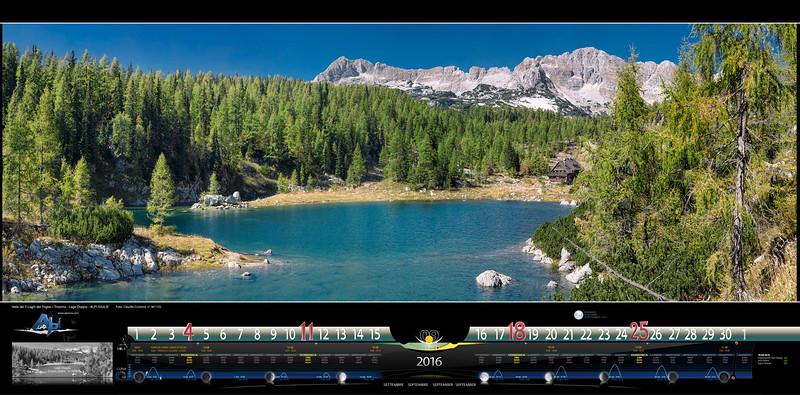 SETTEMBRE - Valle dei 7 Laghi del Triglav/Tricorno, Lago Doppio