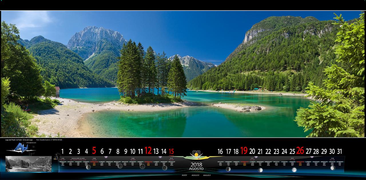 AGOSTO 2018 - Lago di Raibl/del Predil - Val Rio del Lago