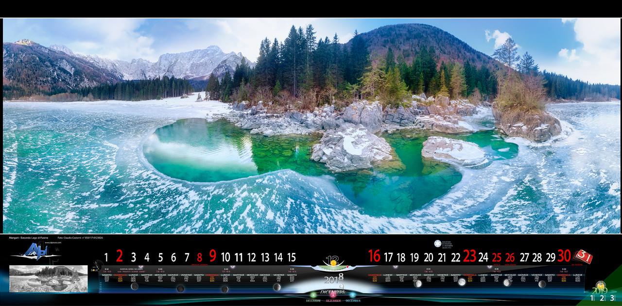 DICEMBRE 2018 - Mangart - Secondo Lago di Fusine