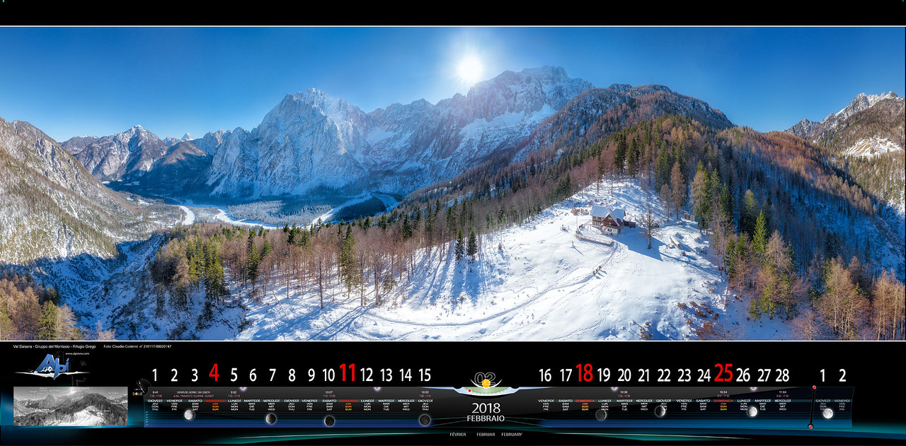 FEBBRAIO 2018 - Val Saisera-Rifugio Grego