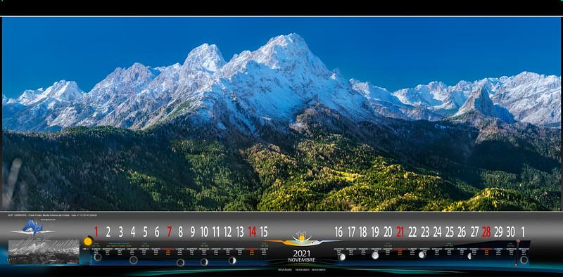 Alpi Carniche e Dolomiti dal Crostis