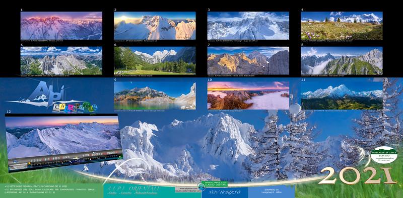 RETRO COPERTINA Alpi Orientali 2021