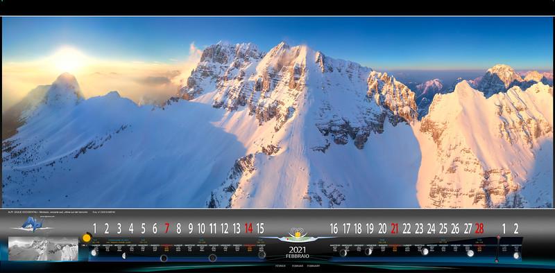 Montasio, parete sud, Val Raccolana