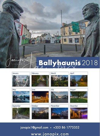 Ballyhaunis 2018 Calendar and cards