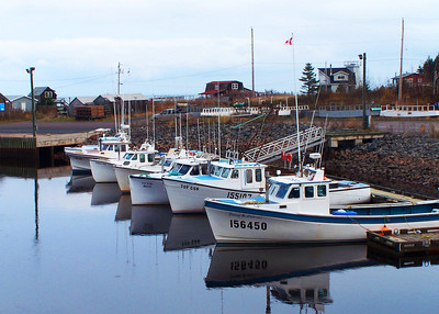 Winter docking, Nova Scotia