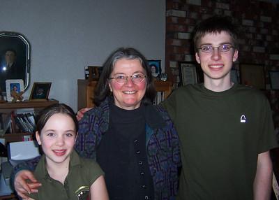 Tessa, Lottie, Justin