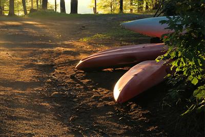 Sunset at Bark Lake
