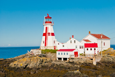 East Quoddy Lighthouse, Campobello Island, New Brunswick