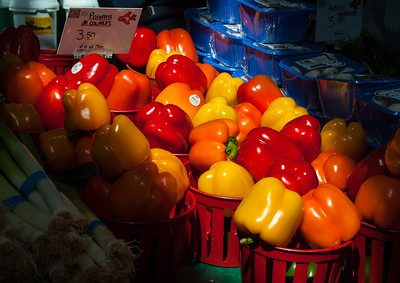 Primary Colours of Pepper