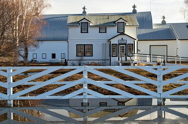April - Farmhouse Visitor Center