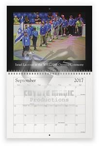 Israel 2020 calendar 09