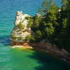 Miner's Castle<br /> Pictured Rocks National Lakeshore, Michigan
