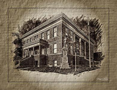 The Ghost of Jefferson TX Calendar