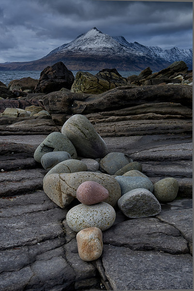 Two for May <br /> Elgol, Island of Skye, Scotland <br /> February 19 2012 <br /> <br /> Cuillin Moutains in Scotland shot from Elgol