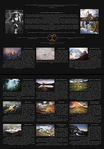 Page de présentation, textes