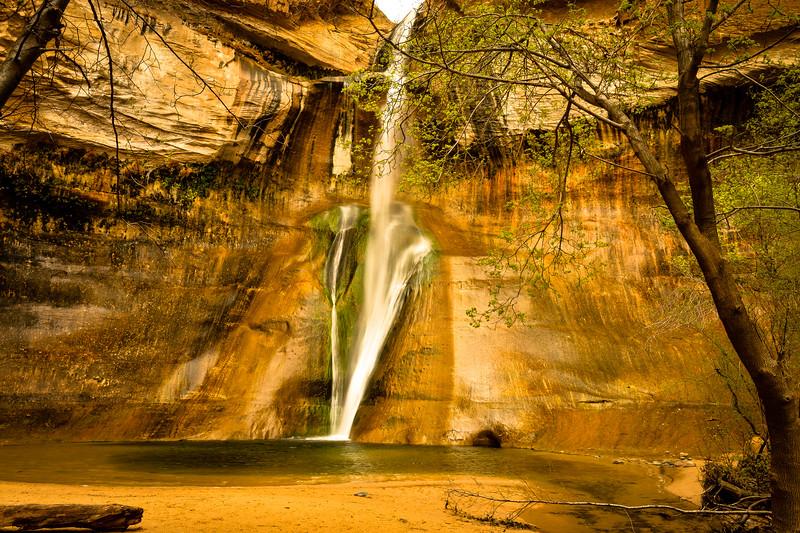Calf Creek Lower Falls