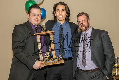 Don Phelps' Rookie of the Year goes to  Goalie Kolby Matthews