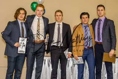 This years 20-year-olds.  We'll miss you boys!! Chard Varney, Josh Giacomin, Andrew Marshall, Hayden Ursulak, Kyler Newman