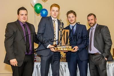 The Ken Bracko Memorial  Most Valuable Player award goes to Josh Giacomin  & Zack Webb.