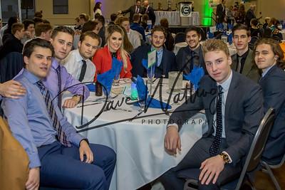 ( L to R) Hayden Ursulak, Kyler Newman, Zach Russel, Taylor Yanchuk, Zach Webb, Cooper Johson,  Blake Stevenson, Jordan McConnell, Chad Varney,