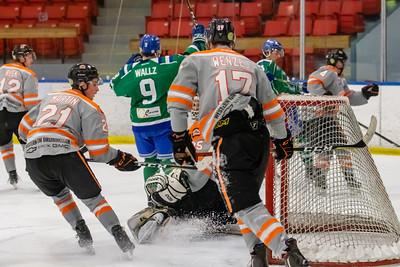 Drumheller Dragons at Calgary Canucks