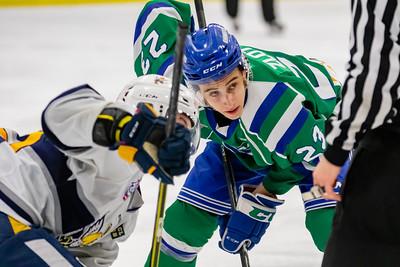 Calgary Canucks host last years AJHL Cup winners, the Spruce Grove Saints