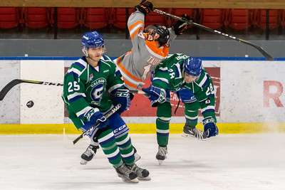 Drumheller Dragons at Calgary Canucks