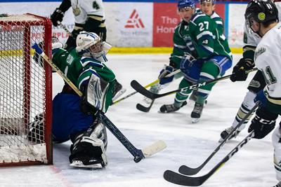 Calgary Canucks host Okotoks Oilers
