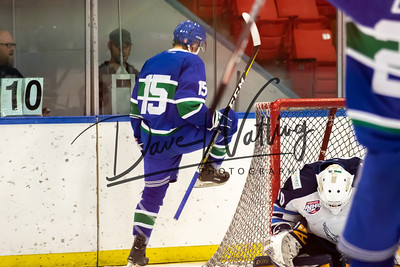Canucks vs Canmore Eagles