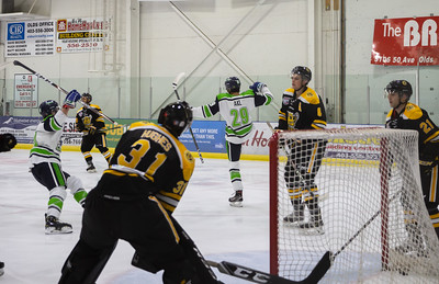 Calgary Canucks at Olds Grizzlys