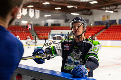 Spruce Grove Saints @ Calgary Canucks, Friday Nov, 15, 2019.