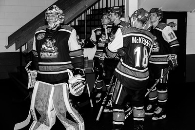 Calgary Canucks vs Okotoks Oilers.