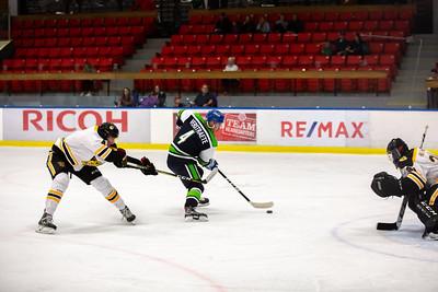 Calgary Canucks vs Olds Grizzlys