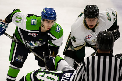 Calgary Canucks vs Okotoks Oilers.