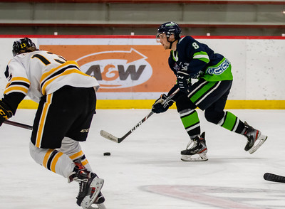 Olds Grizzlys @ Calgary Canucks Saturday, April 24, 2021 Father David Bauer Arena. @TheAJHL