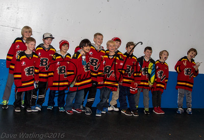 Bow Valley Atom 4 Hockey team