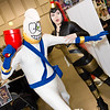 Earthworm Jim and Princess What's-Her-Name