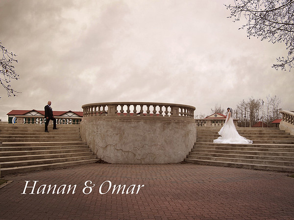 One Time Shot Photography Hanan & Omar  - The Carriage House Inn, Calgary Alberta