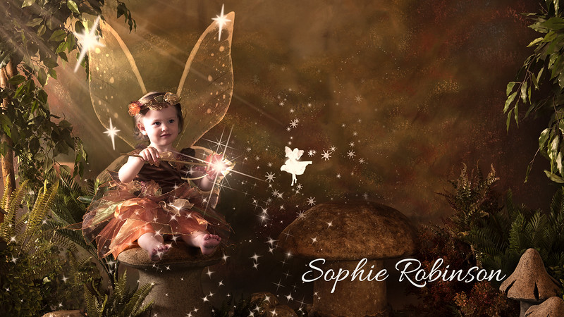 Sophie - Fairies in Studio at One Time Shot Photography, Calgary