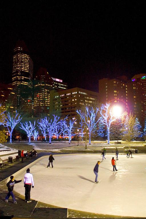 Calgary Olympic Plaza